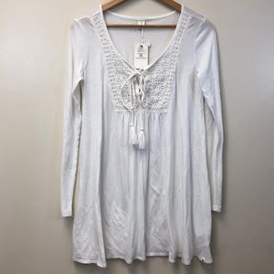 NWT VOLCOM Embroidered Coverup Dress